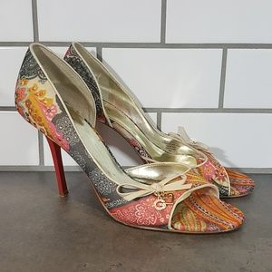 Guess By Marciano Multicolor Gwenthuse Pumps 9